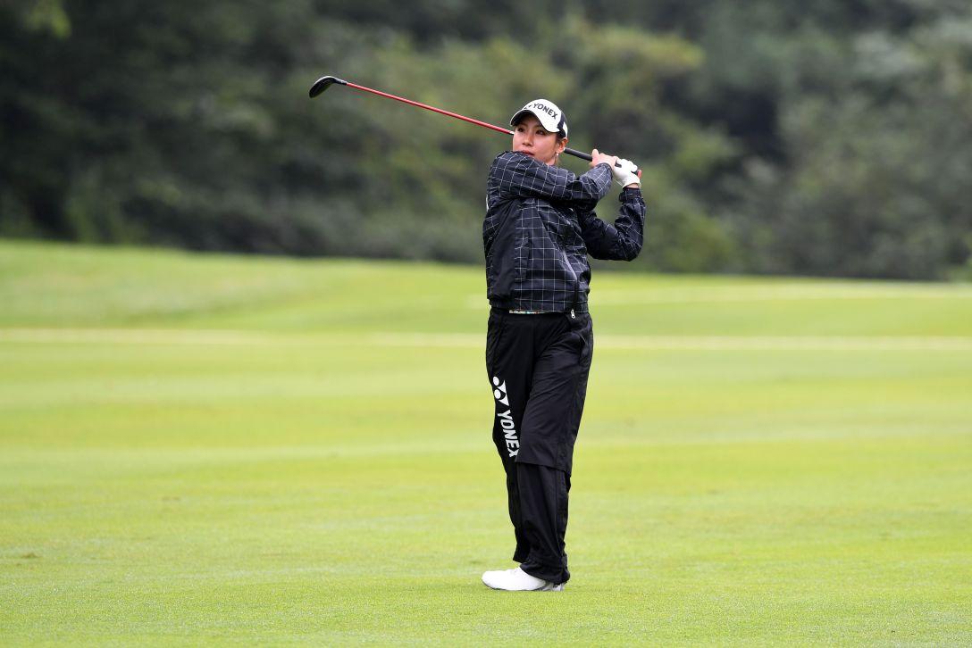 センチュリー21レディスゴルフトーナメント 1日目 若林舞衣子 <Photo:Arrow Press/Getty Images>