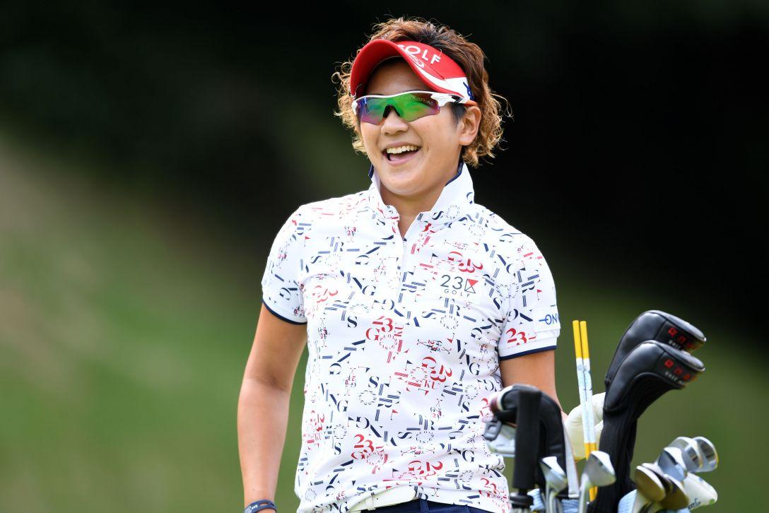 センチュリー21レディスゴルフトーナメント 最終日 成田 美寿々 <Photo:Arrow Press/Getty Images>