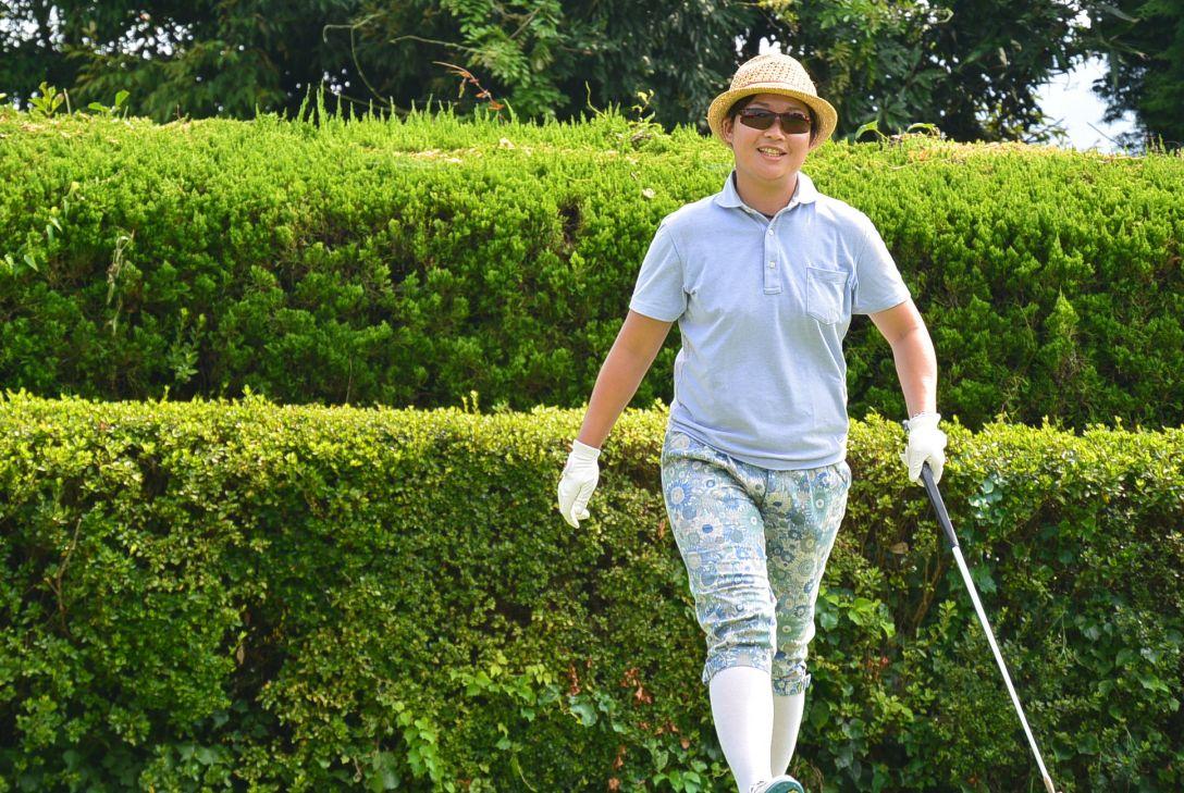 九州みらい建設グループレディースゴルフトーナメント 1日目 足立由美佳