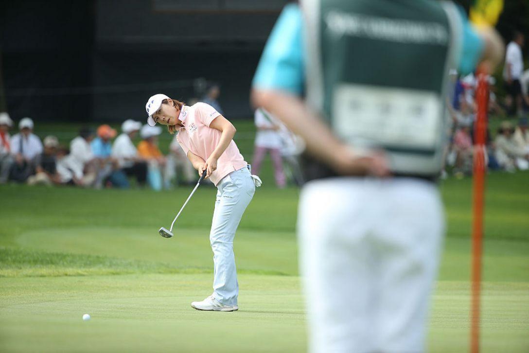 NEC軽井沢72ゴルフトーナメント 1日目 李知姫 <Photo:Atsushi Tomura/Getty Images>