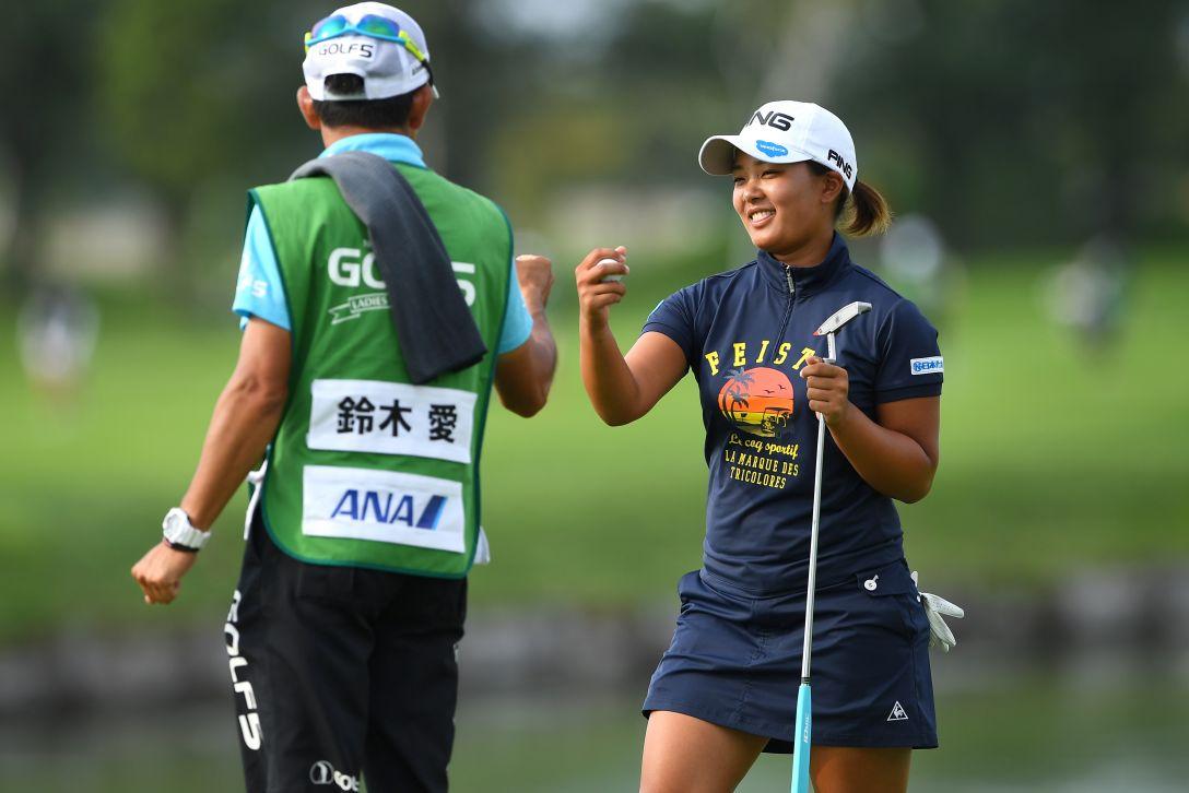 ゴルフ5レディス プロゴルフトーナメント 1日目 鈴木愛 <Photo:Masterpress/Getty Images>