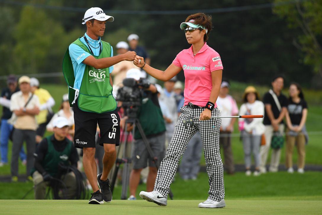 ゴルフ5レディス プロゴルフトーナメント 2日目 穴井詩 <Photo:Masterpress/Getty Images>