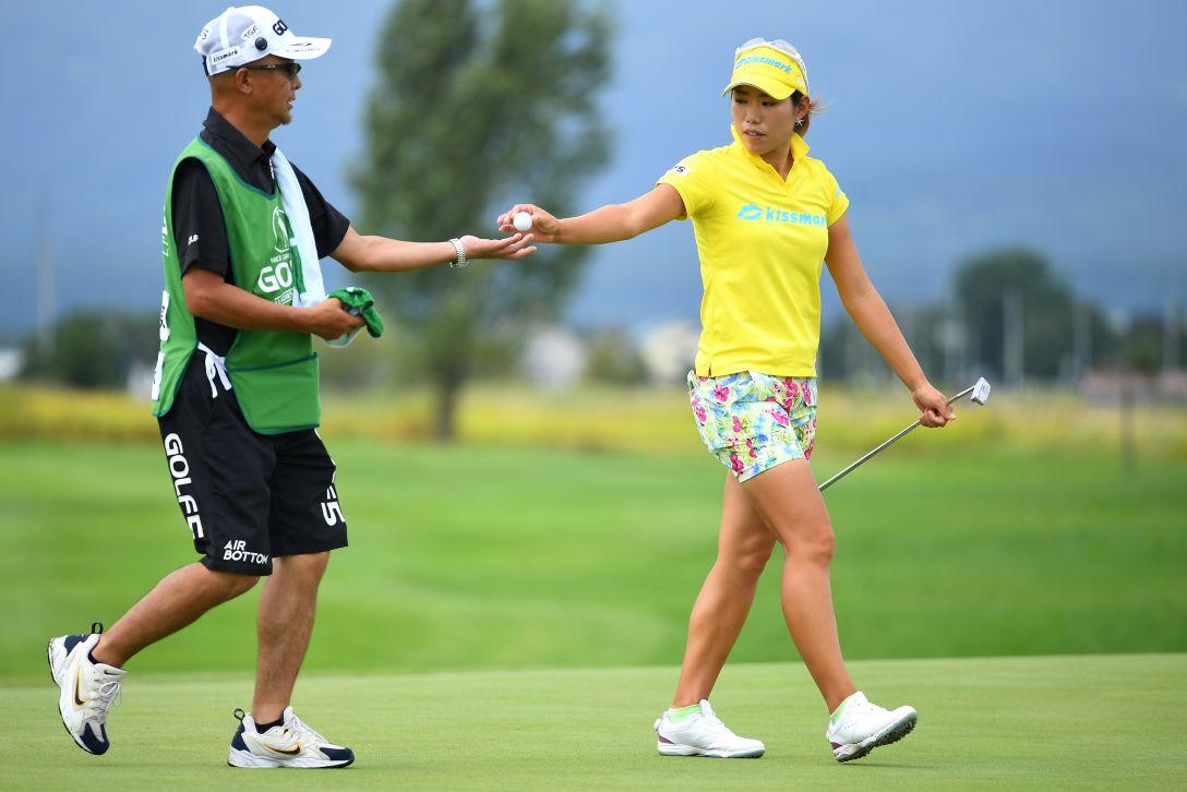 ゴルフ5レディス プロゴルフトーナメント 2日目 山田成美 <Photo:Masterpress/Getty Images>