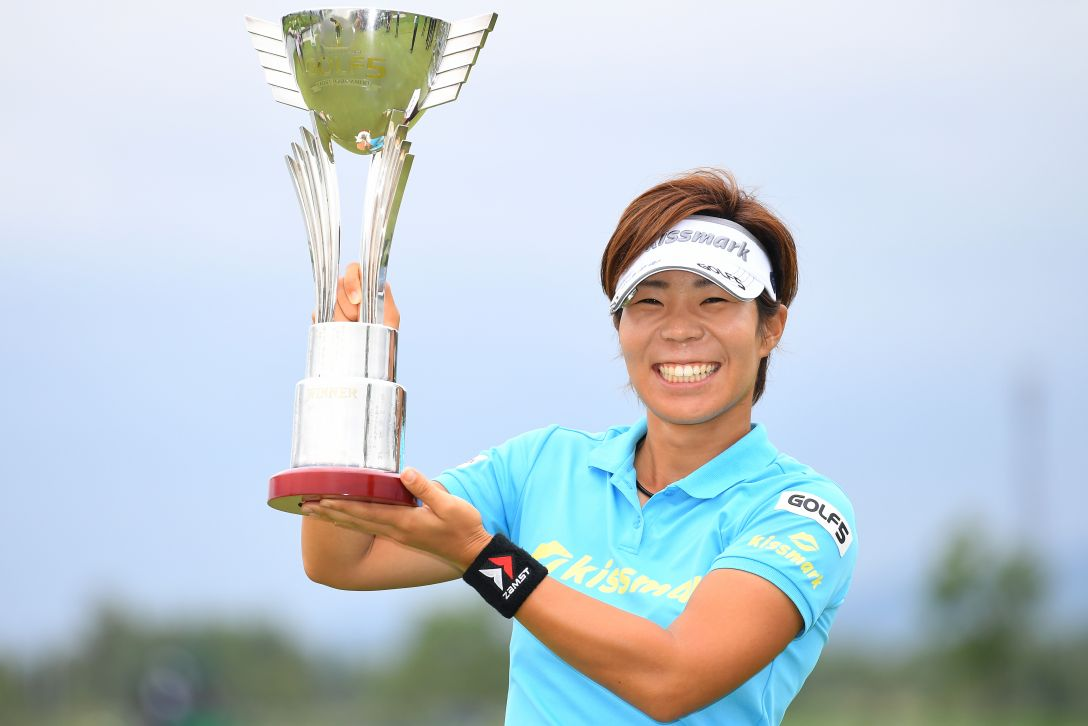 ゴルフ5レディス プロゴルフトーナメント 最終日 穴井詩 <Photo:Masterpress/Getty Images>