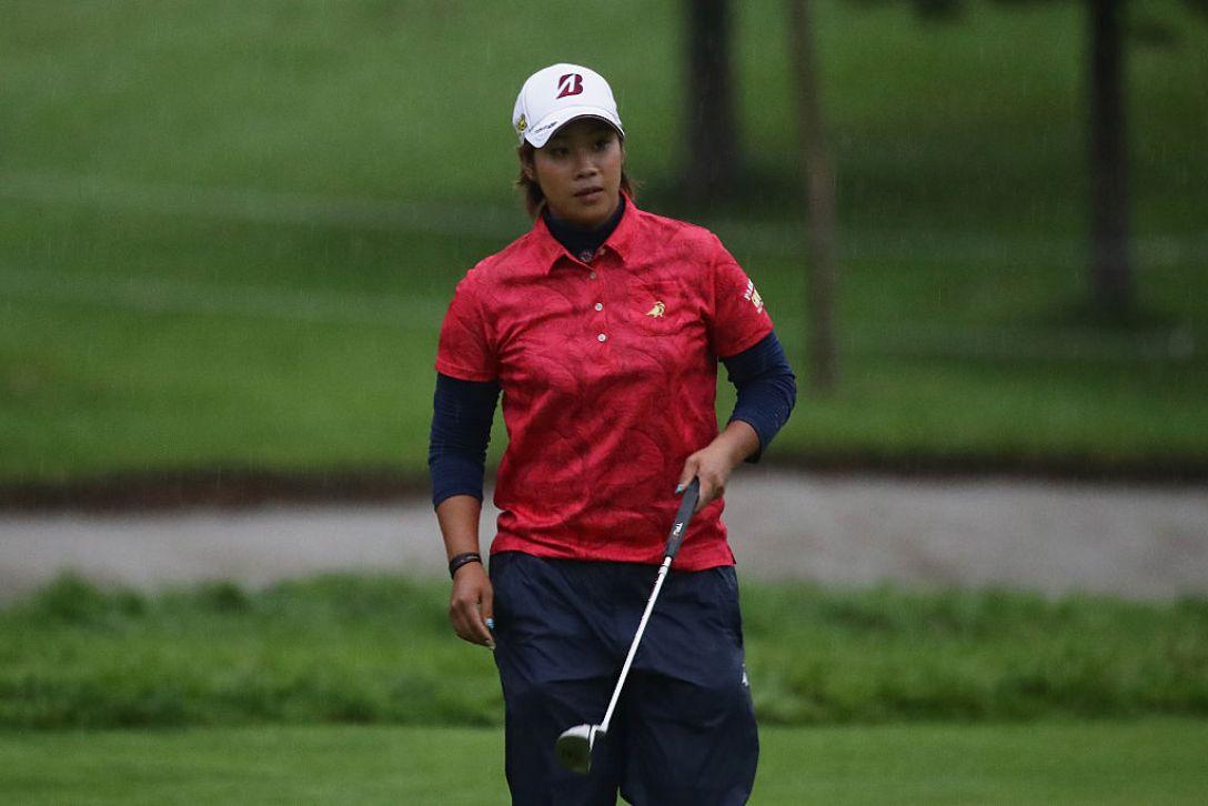 日本女子プロゴルフ選手権大会コニカミノルタ杯 1日目 濱田茉優 <Photo:Chung Sung-Jun/Getty Images>