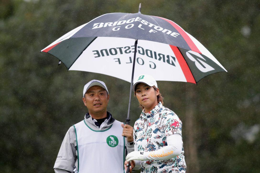 日本女子プロゴルフ選手権大会コニカミノルタ杯 2日目 濱田茉優 <Photo:Chung Sung-Jun/Getty Images>