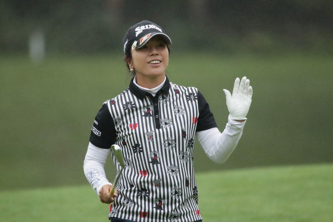 日本女子プロゴルフ選手権大会コニカミノルタ杯 2日目 下川めぐみ <Photo:Chung Sung-Jun/Getty Images>