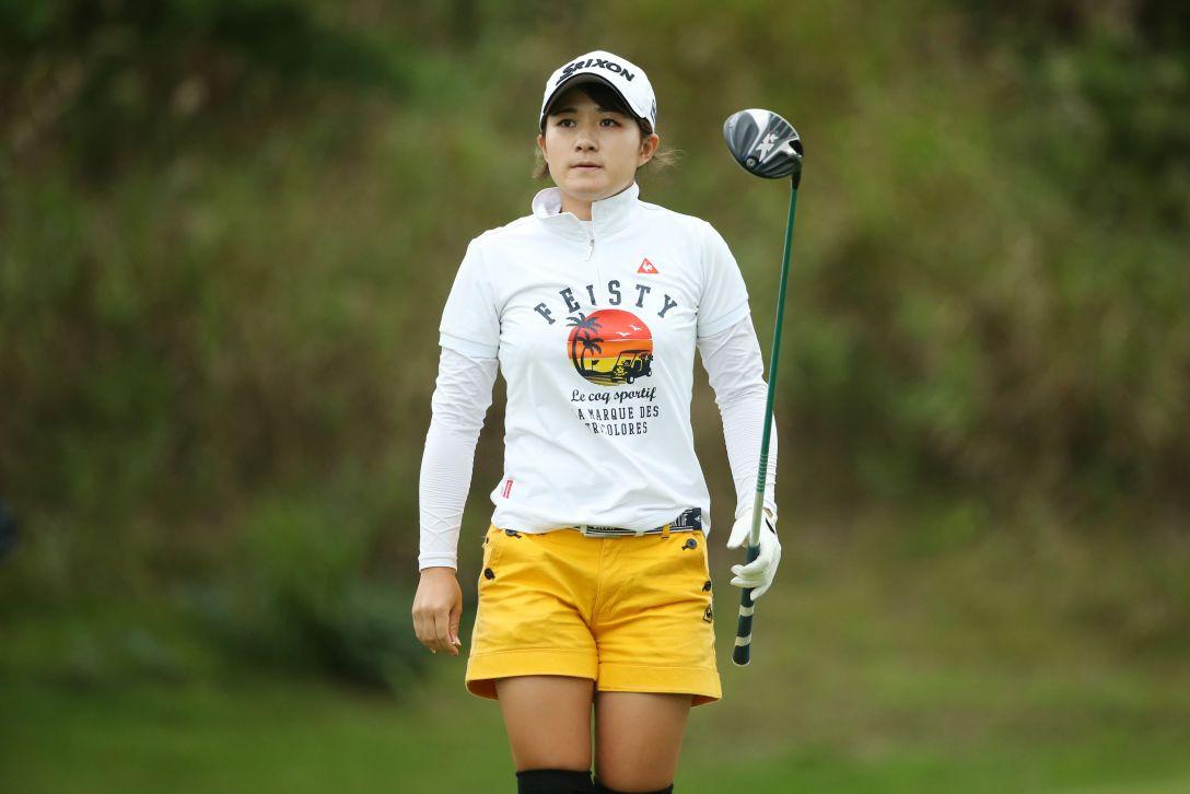 ミヤギテレビ杯ダンロップ女子オープンゴルフトーナメント 1日目 佐久間綾女 <Photo:Atsushi Tomura/Getty Images>