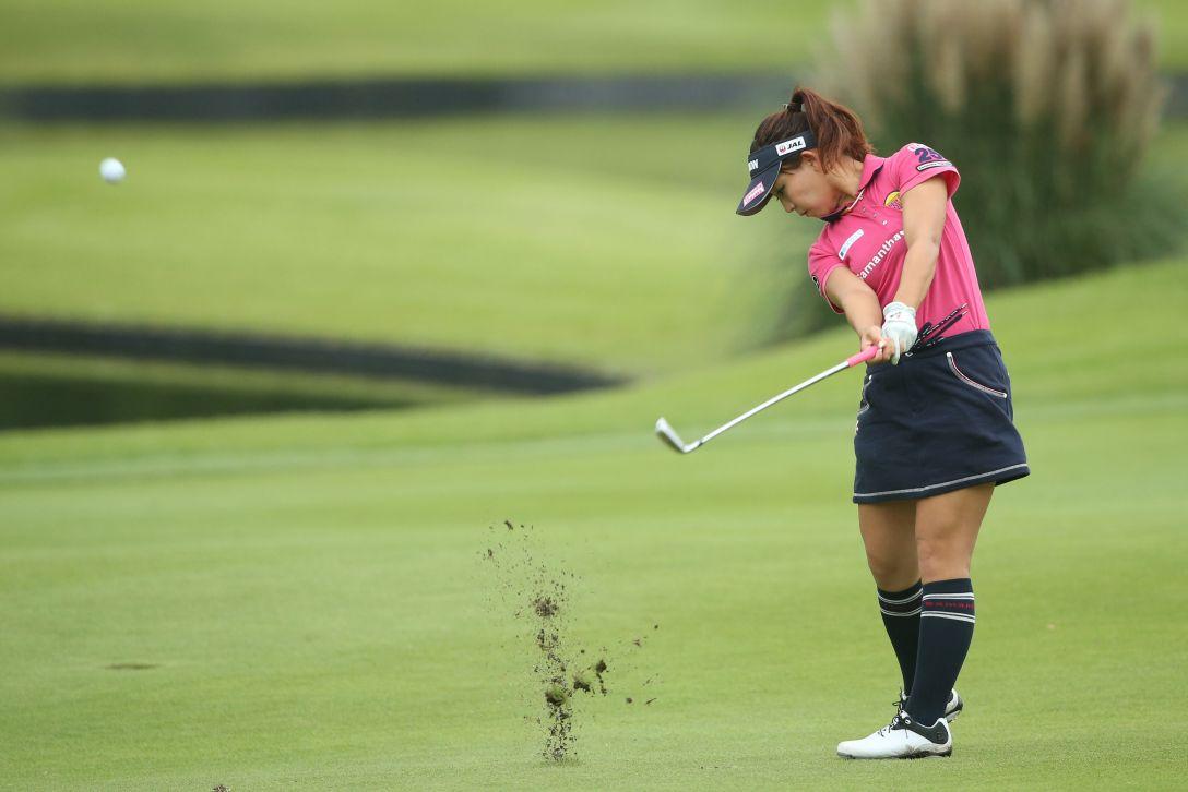 ミヤギテレビ杯ダンロップ女子オープンゴルフトーナメント 1日目 香妻琴乃 <Photo:Atsushi Tomura/Getty Images>