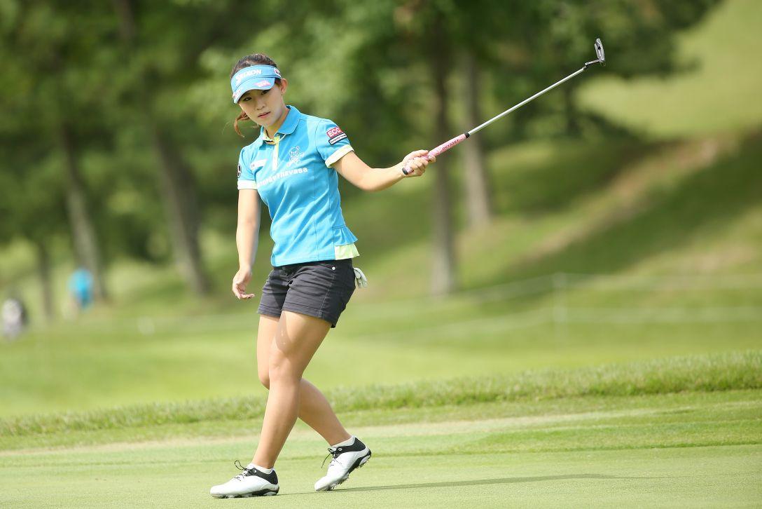 ミヤギテレビ杯ダンロップ女子オープンゴルフトーナメント 2日目 香妻琴乃 <Photo:Atsushi Tomura/Getty Images>
