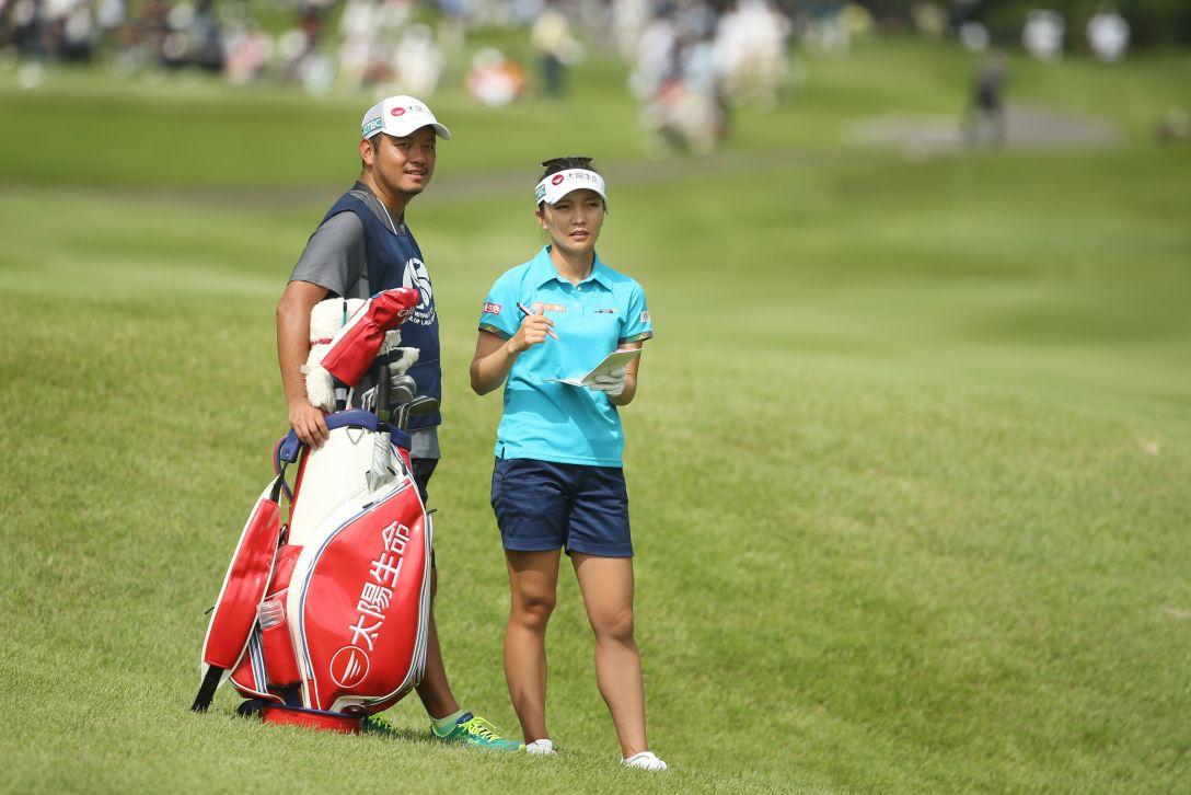 ミヤギテレビ杯ダンロップ女子オープンゴルフトーナメント 最終日 テレサ・ルー <Photo:Atsushi Tomura/Getty Images>