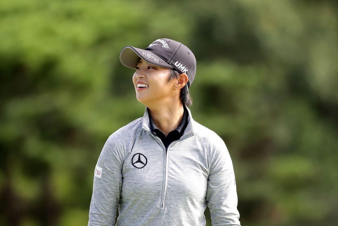 日本女子オープンゴルフ選手権競技 2日目 柏原 明日架 <Photo:Chung Sung-Jun/Getty Images>