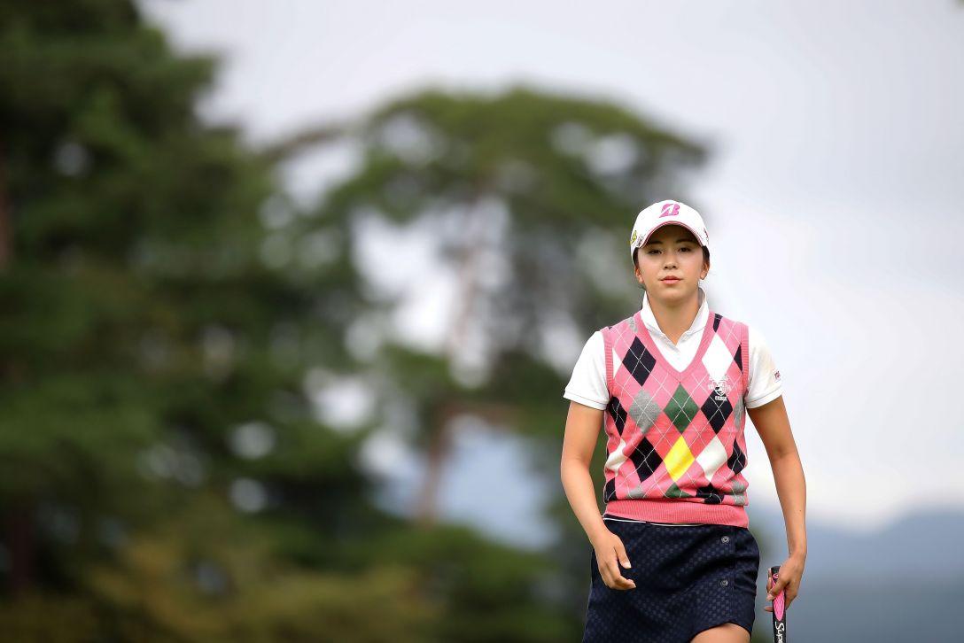 日本女子オープンゴルフ選手権競技 3日目 堀琴音 <Photo:Chung Sung-Jun/Getty Images>
