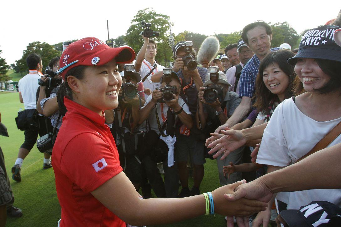 日本女子オープンゴルフ選手権競技 最終日 畑岡奈紗 <Photo:Chung Sung-Jun/Getty Images>