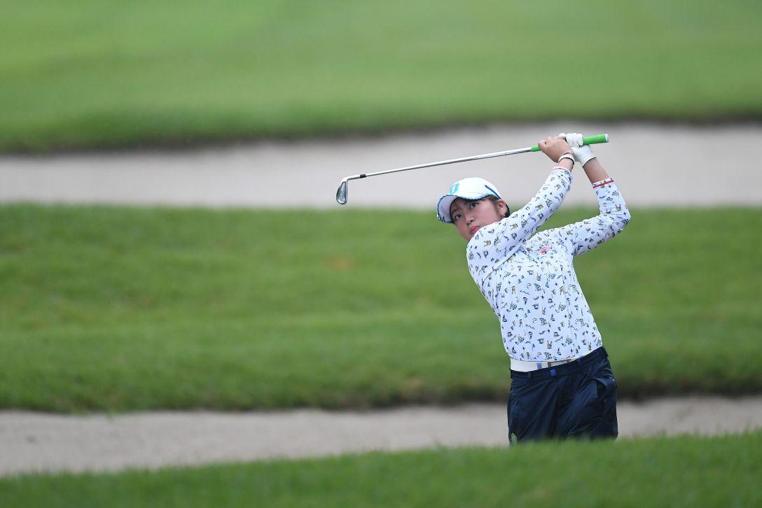 スタンレーレディスゴルフトーナメント 最終日 田辺ひかり <Photo:Atsushi Tomura/Getty Images>