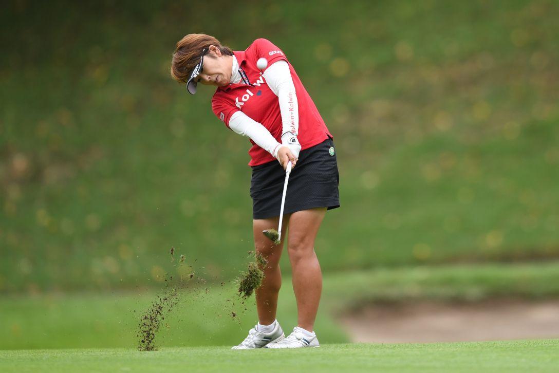 スタンレーレディスゴルフトーナメント 最終日 福嶋浩子 <Photo:Atsushi Tomura/Getty Images>