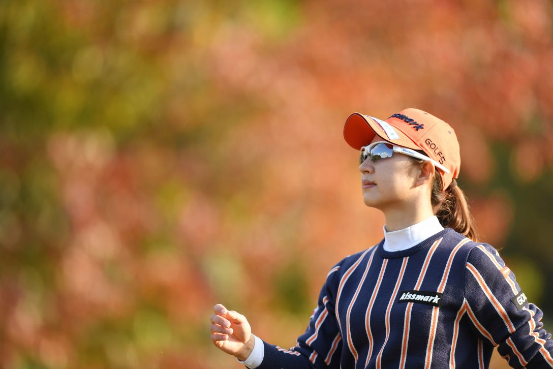伊藤園レディスゴルフトーナメント 2日目 川満 陽香理 <Photo:Atsushi Tomura/Getty Images>