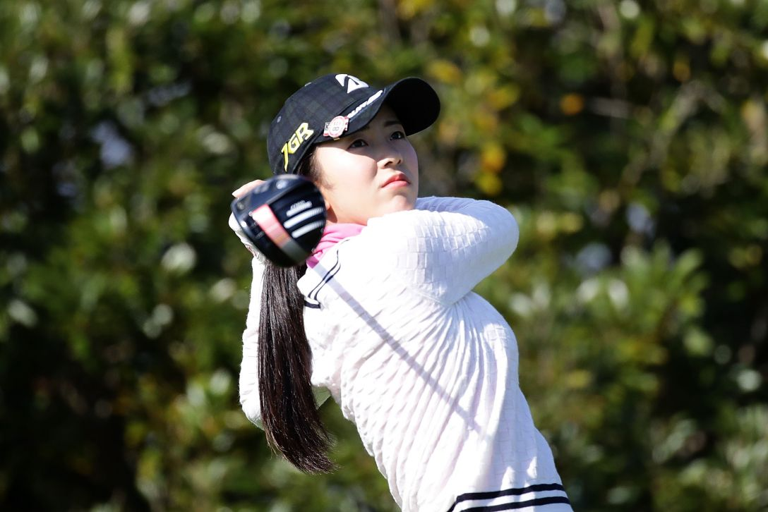 LPGAツアーチャンピオンシップリコーカップ 1日目 堀 琴音 <Photo:Chung Sung-Jun/Getty Images>