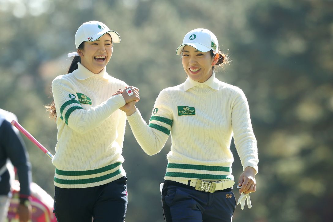 THE QUEENS 1日目 笠りつ子、堀琴音 <Photo:Atsushi Tomura/Getty Images>
