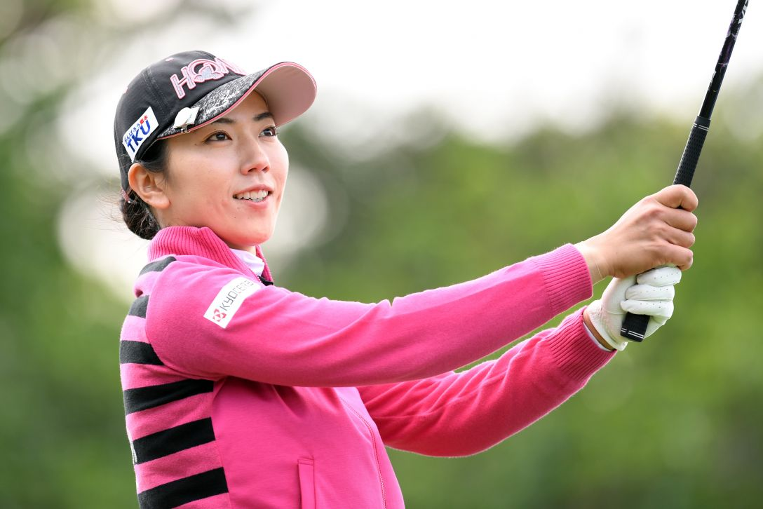 ダイキンオーキッドレディスゴルフトーナメント 1日目 笠りつ子 <Photo:Atsushi Tomura/Getty Images>