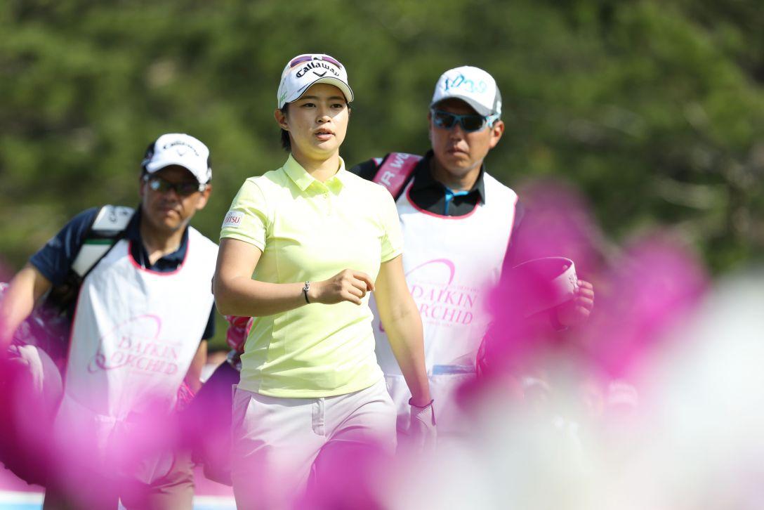 ダイキンオーキッドレディスゴルフトーナメント 3日目 柏原 明日架 <Photo:Atsushi Tomura/Getty Images>