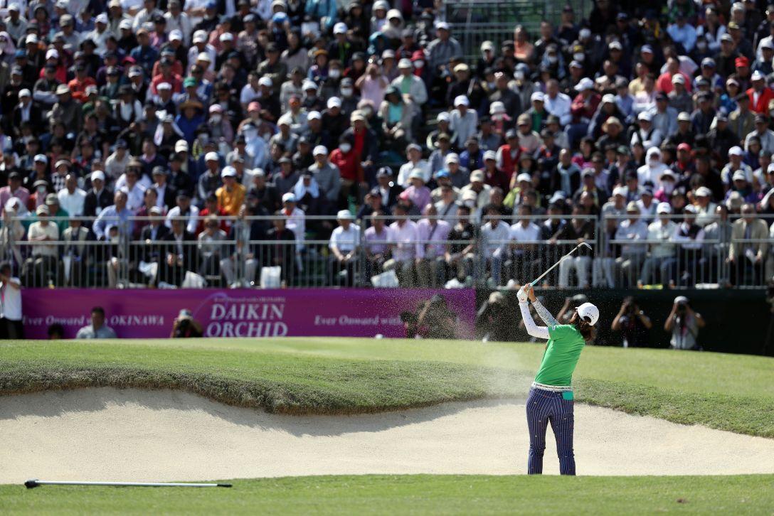 ダイキンオーキッドレディスゴルフトーナメント 最終日 李 知姫 <Photo:Atsushi Tomura/Getty Images>