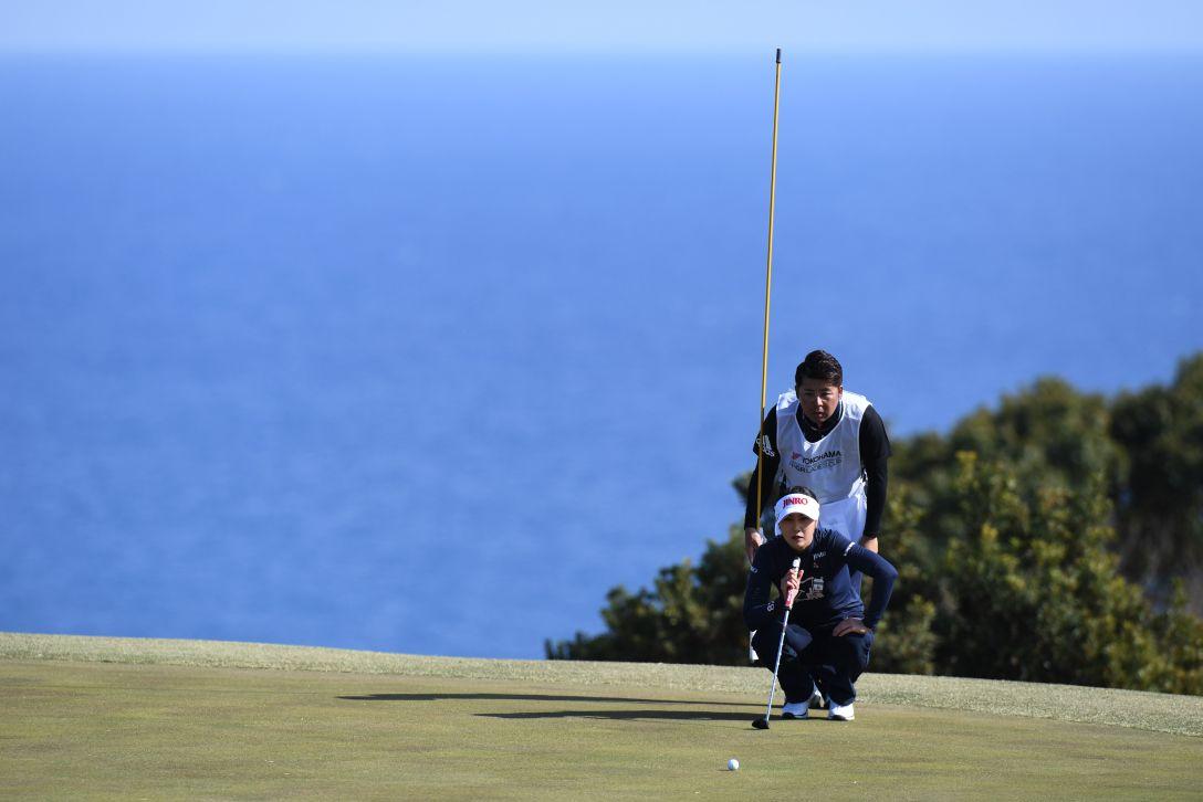 ヨコハマタイヤゴルフトーナメント PRGRレディスカップ 1日目 キムハヌル <Photo:Atsushi Tomura/Getty Images>