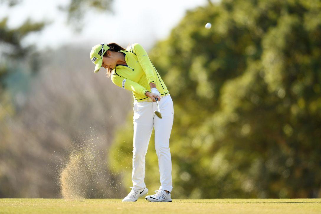 ヨコハマタイヤゴルフトーナメント PRGRレディスカップ 1日目 森田遥 <Photo:Atsushi Tomura/Getty Images>