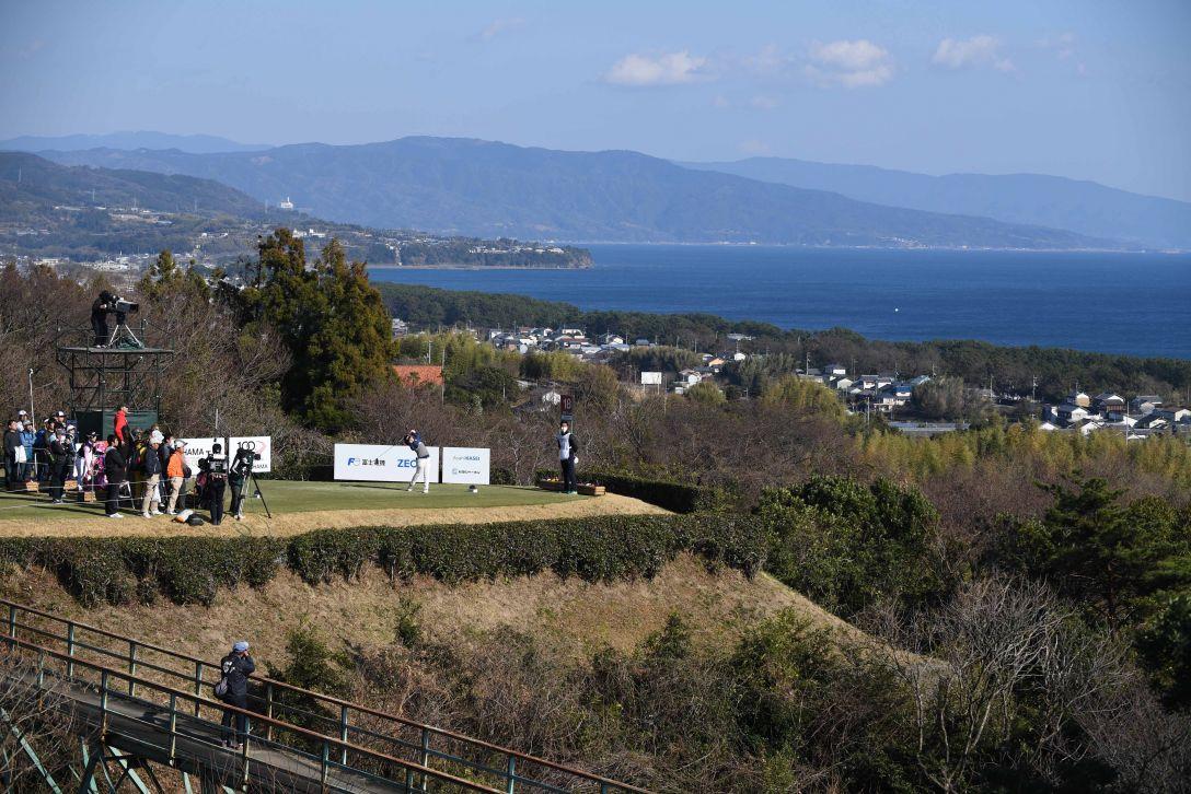 ヨコハマタイヤゴルフトーナメント PRGRレディスカップ 2日目 青木 瀬令奈 <Photo:Atsushi Tomura/Getty Images>