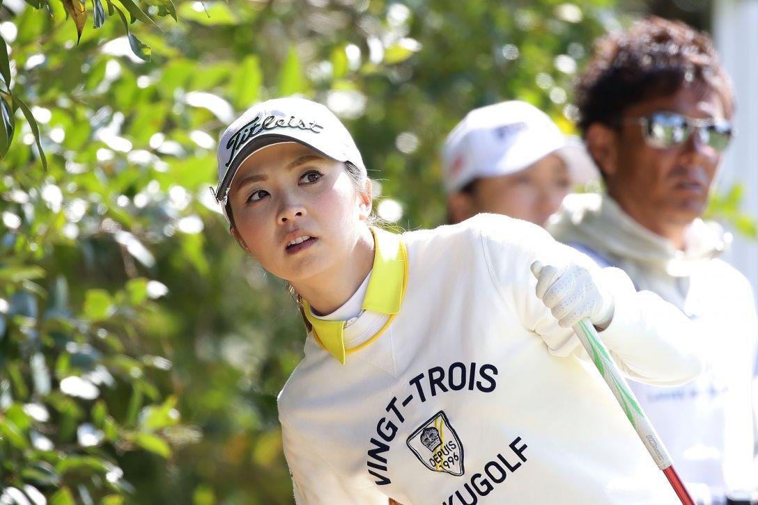 Tポイントレディス ゴルフトーナメント 1日目 菊地絵理香 <Photo:Chung Sung-Jun/Getty Images>