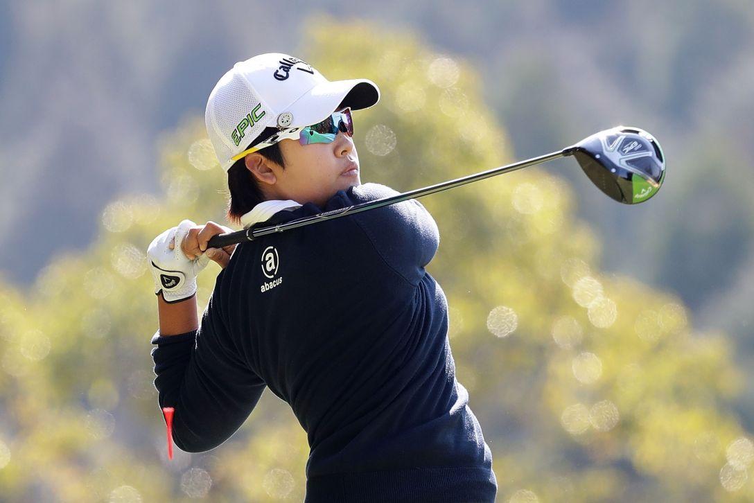 Tポイントレディス ゴルフトーナメント 1日目 ペヒギョン <Photo:Chung Sung-Jun/Getty Images>
