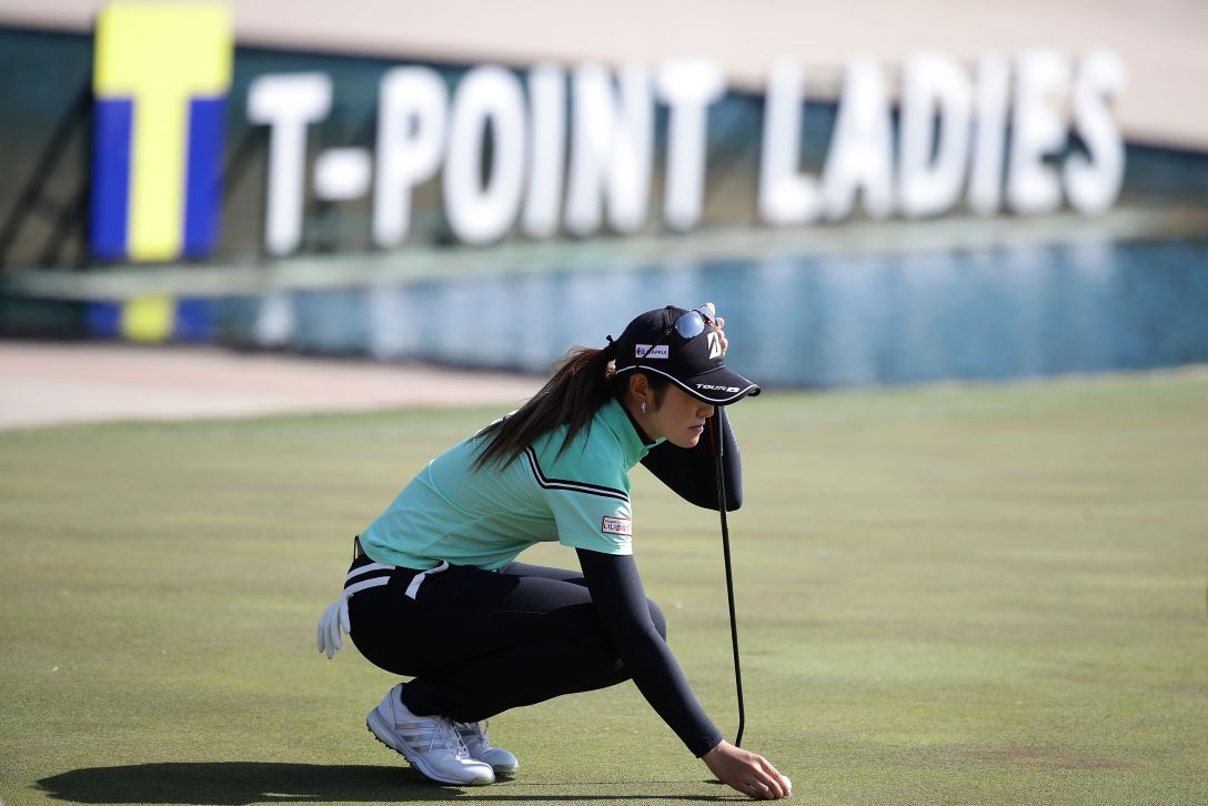 Tポイントレディス ゴルフトーナメント 1日目 渡邉彩香 <Photo:Chung Sung-Jun/Getty Images>