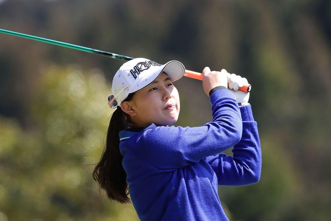 Tポイントレディス ゴルフトーナメント 1日目 皆吉愛寿香 <Photo:Chung Sung-Jun/Getty Images>