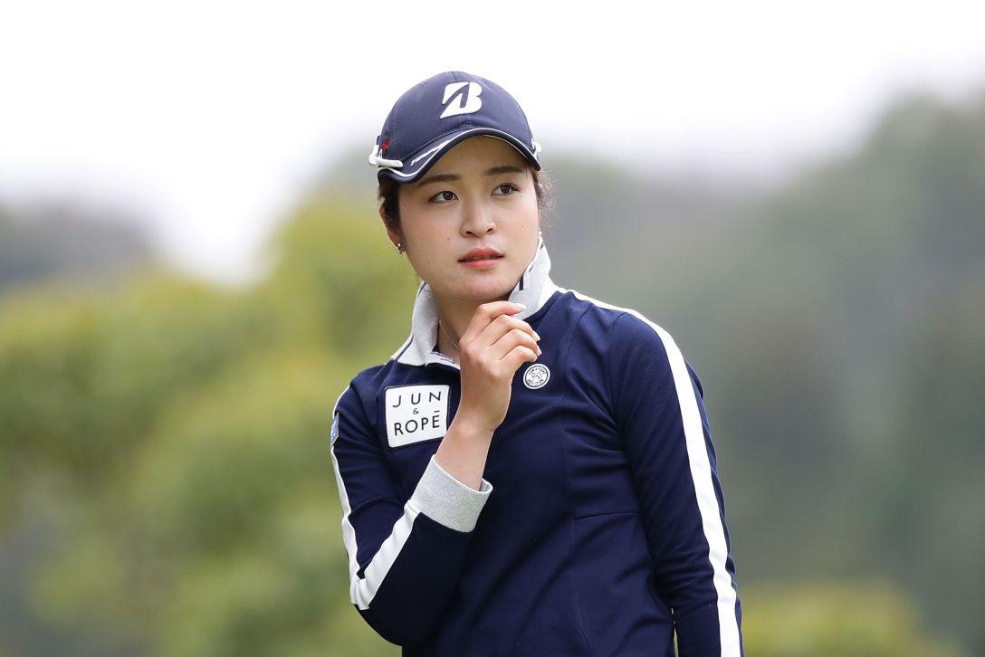 Tポイントレディス ゴルフトーナメント 2日目 三ヶ島かな <Photo:Chung Sung-Jun/Getty Images>