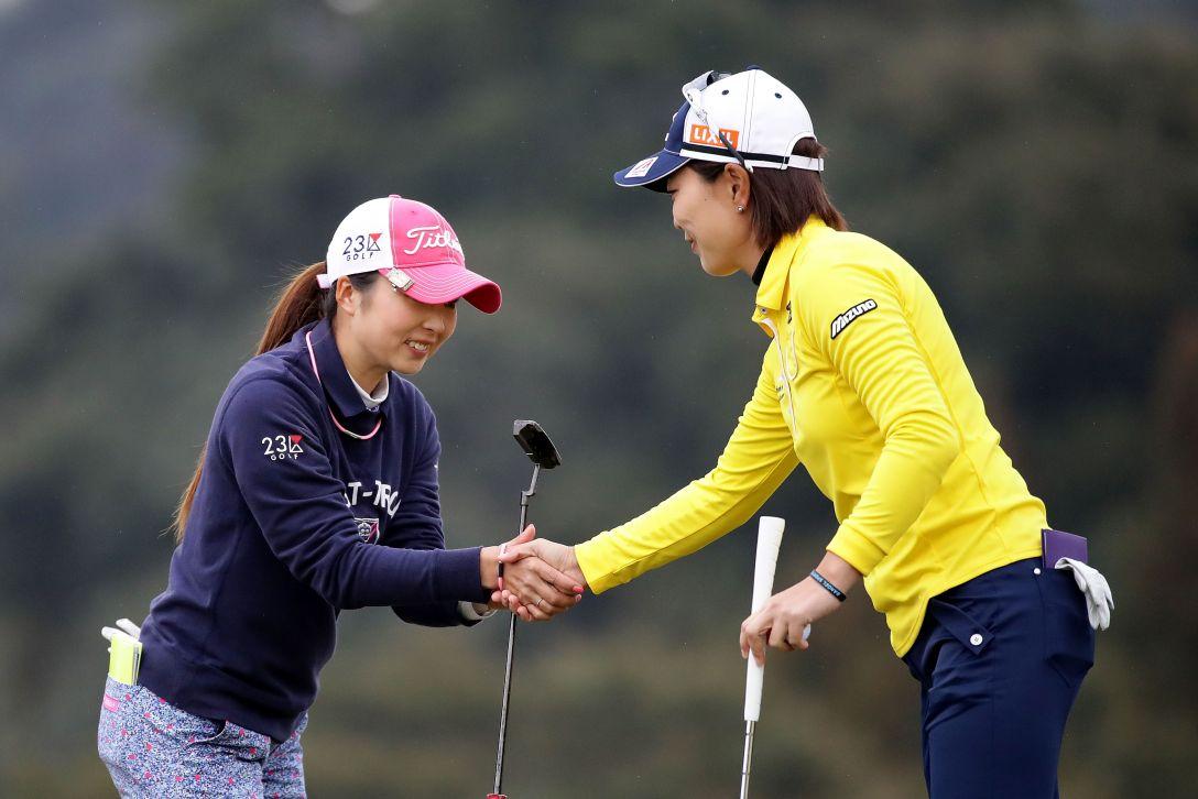 Tポイントレディス ゴルフトーナメント 2日目 菊地絵理香 <Photo:Chung Sung-Jun/Getty Images>