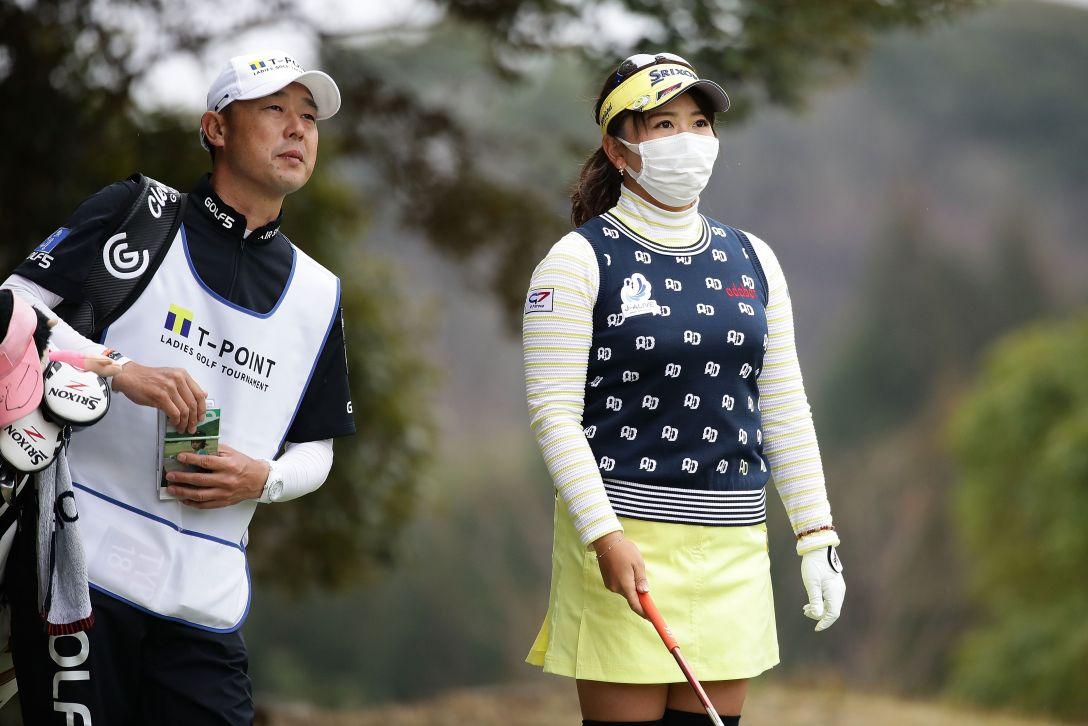 Tポイントレディス ゴルフトーナメント 2日目 吉田弓美子 <Photo:Chung Sung-Jun/Getty Images>