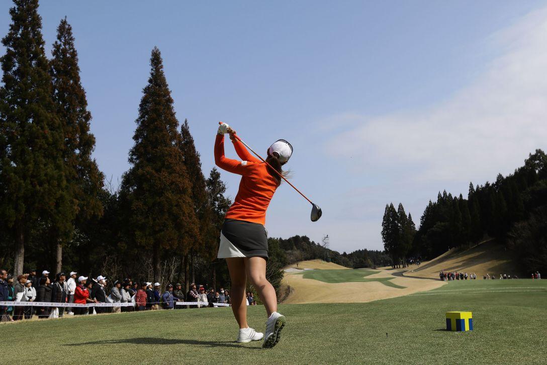 Tポイントレディス ゴルフトーナメント 最終日 渡邉彩香 <Photo:Chung Sung-Jun/Getty Images>