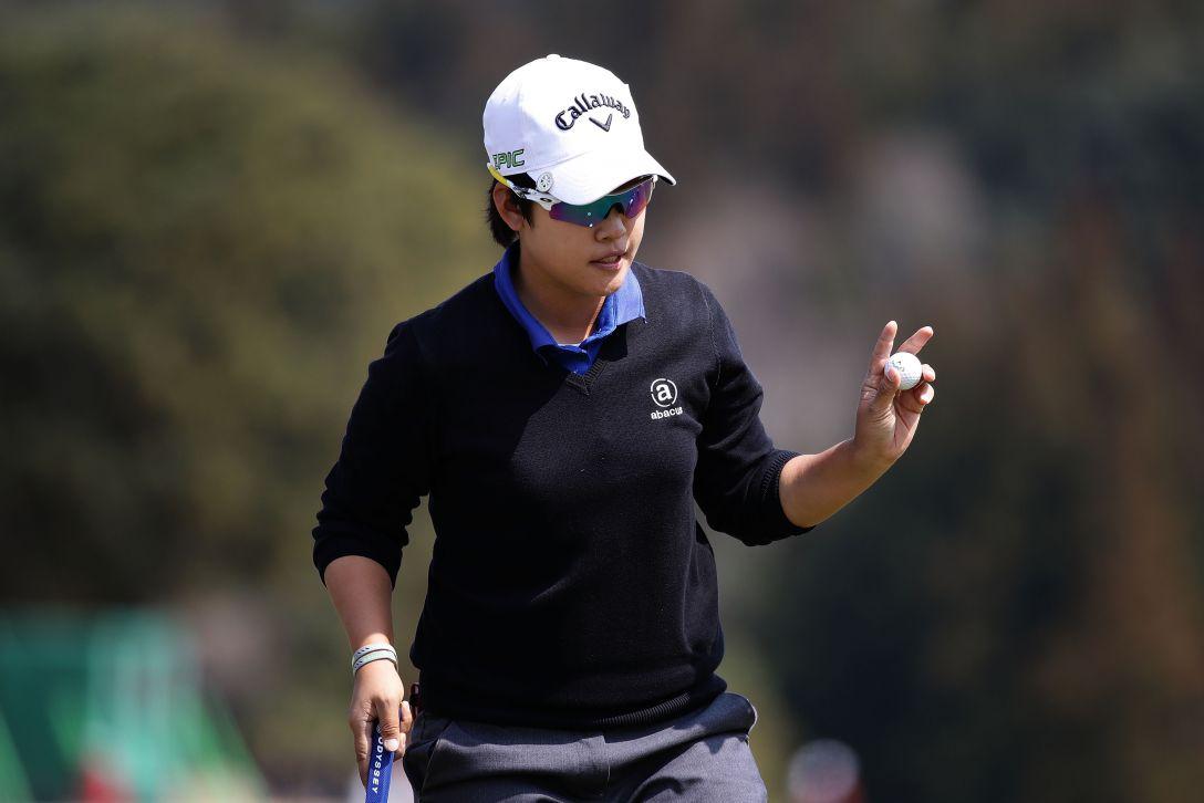 Tポイントレディス ゴルフトーナメント 最終日 ペヒギョン <Photo:Chung Sung-Jun/Getty Images>