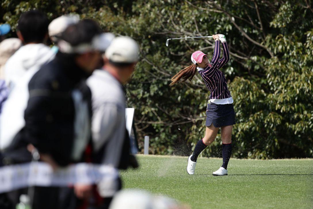 Tポイントレディス ゴルフトーナメント 最終日 菊地絵理香 <Photo:Chung Sung-Jun/Getty Images>