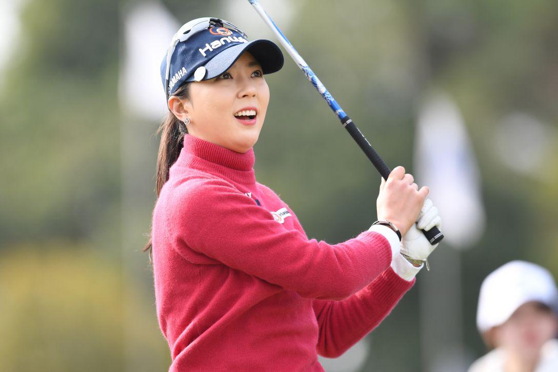 アクサレディスゴルフトーナメント in MIYAZAKI 1日目 ユンチェヨン <Photo:Atsushi Tomura/Getty Images>