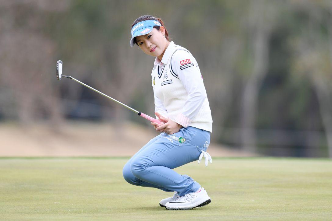 アクサレディスゴルフトーナメント in MIYAZAKI 1日目 香妻琴乃 <Photo:Atsushi Tomura/Getty Images>