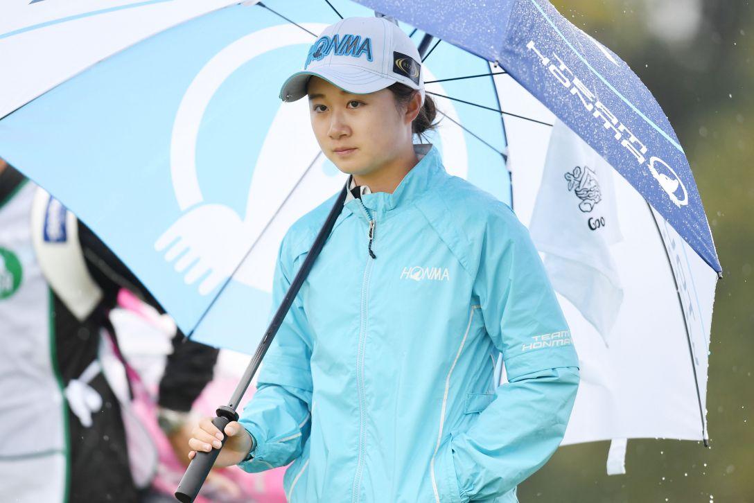 アクサレディスゴルフトーナメント in MIYAZAKI 2日目 森田 遥 <Photo:Atsushi Tomura/Getty Images>