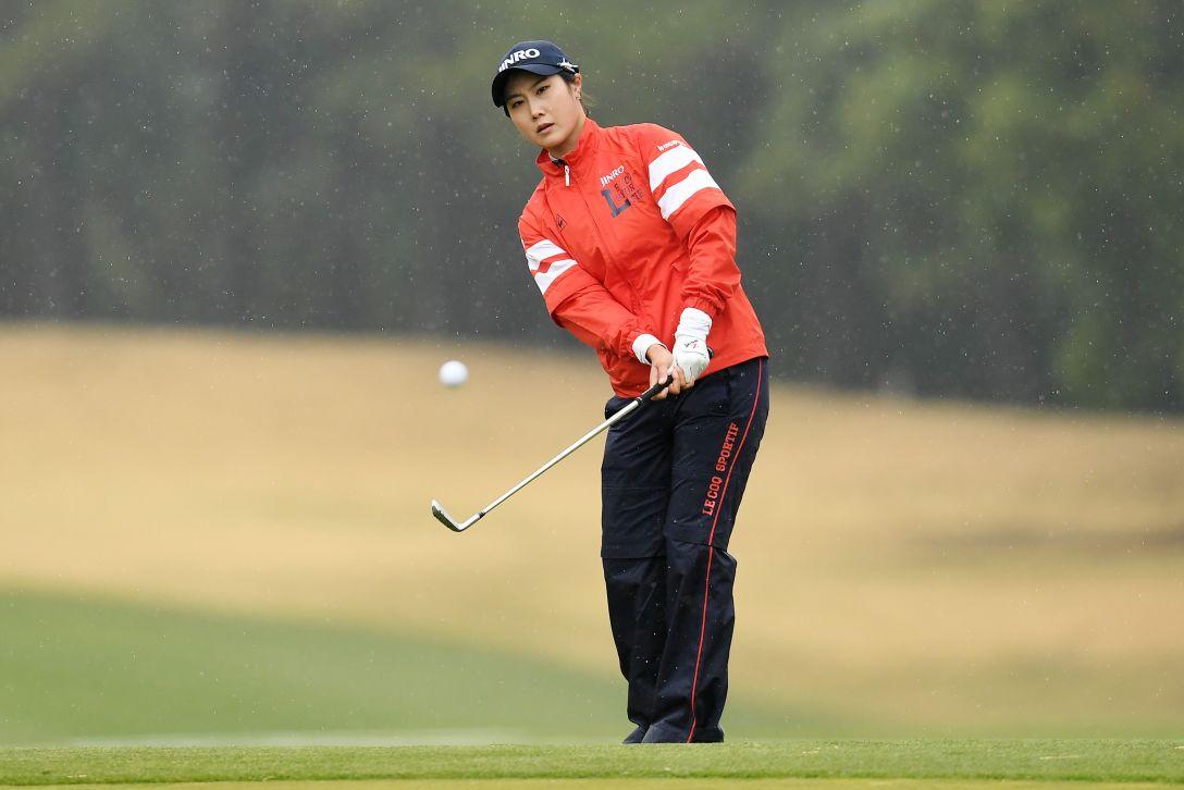 アクサレディスゴルフトーナメント in MIYAZAKI 2日目 キム ハヌル <Photo:Atsushi Tomura/Getty Images>