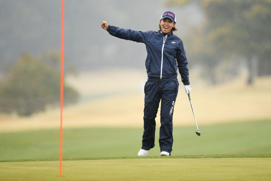 アクサレディスゴルフトーナメント in MIYAZAKI 2日目 若林 舞衣子 <Photo:Atsushi Tomura/Getty Images>