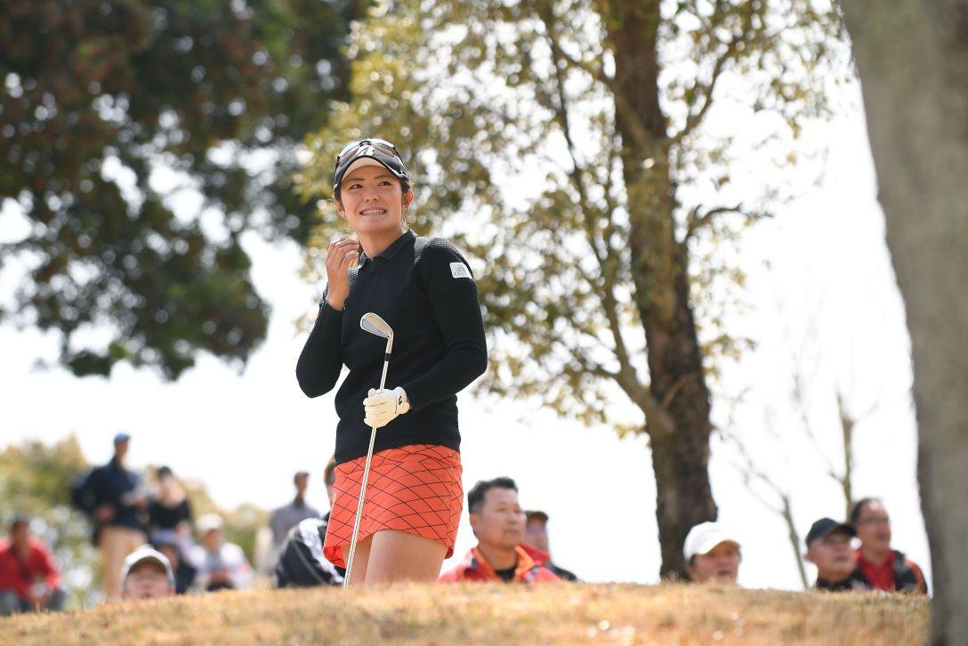 アクサレディスゴルフトーナメント in MIYAZAKI 最終日 渡邉彩香 <Photo:Atsushi Tomura/Getty Images>