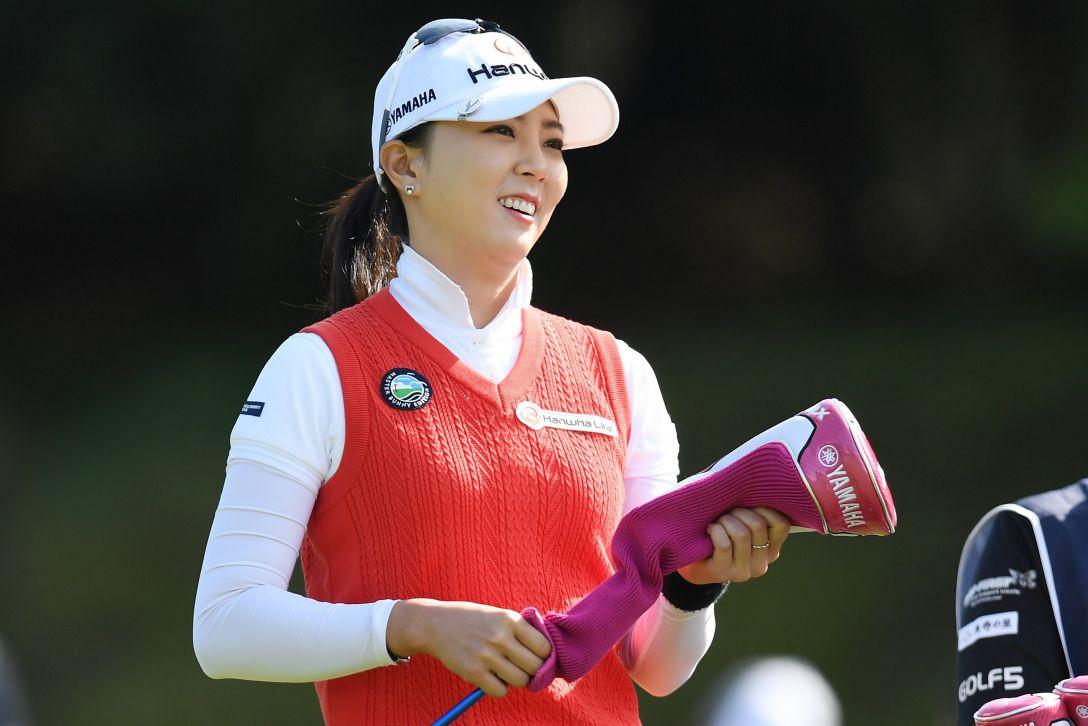 サイバーエージェント レディスゴルフトーナメント 1日目 ユンチェヨン <Photo:Atsushi Tomura/Getty Images>