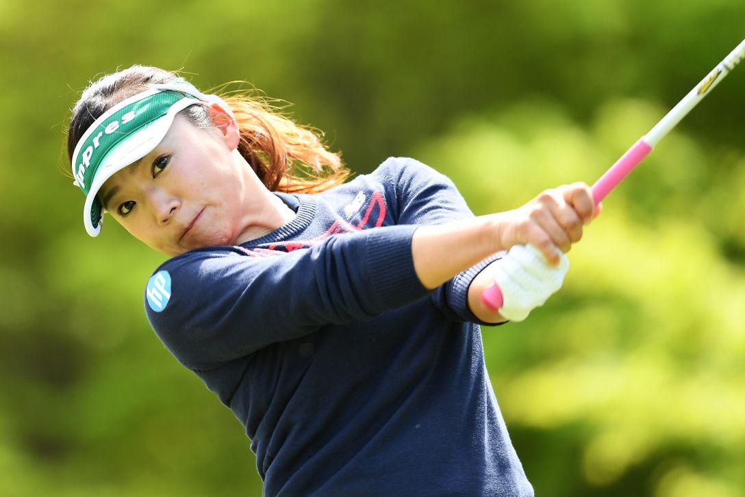 サイバーエージェント レディスゴルフトーナメント 1日目 有村智恵 <Photo:Atsushi Tomura/Getty Images>