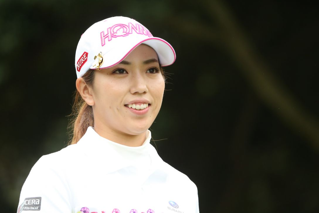 ヤマハレディースオープン葛城 練習日 笠りつ子