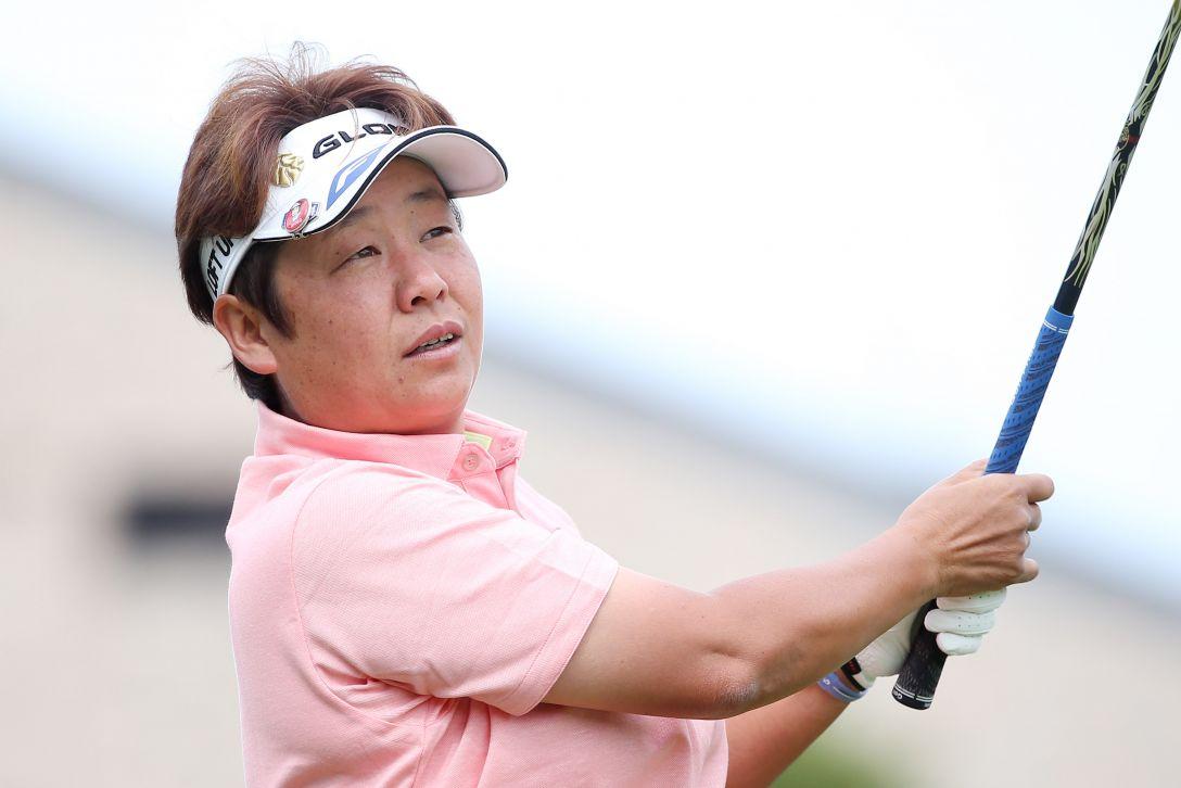 ヨネックスレディスゴルフトーナメント 1日目 表 純子