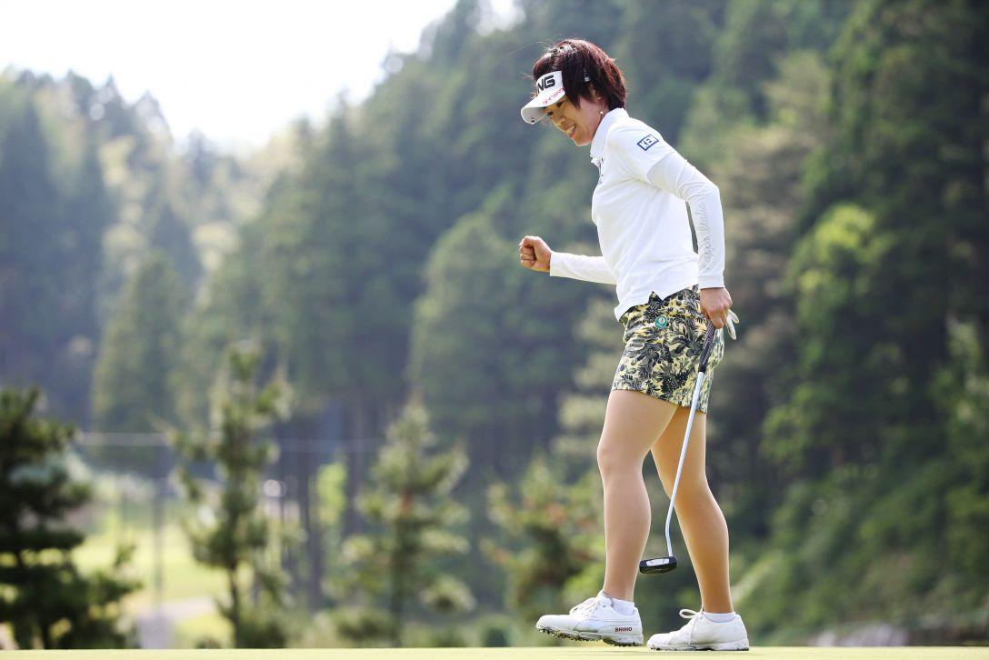 ヨネックスレディスゴルフトーナメント 2日目 大山 志保